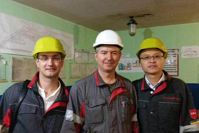 TECHNICAL SUPPORT FOR UKRAINE STEEL FACTORY