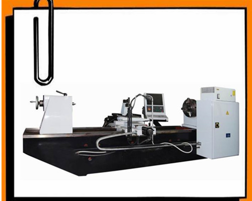 CNC ROLLER NOTCHING AND LOGO MAKING MACHINE